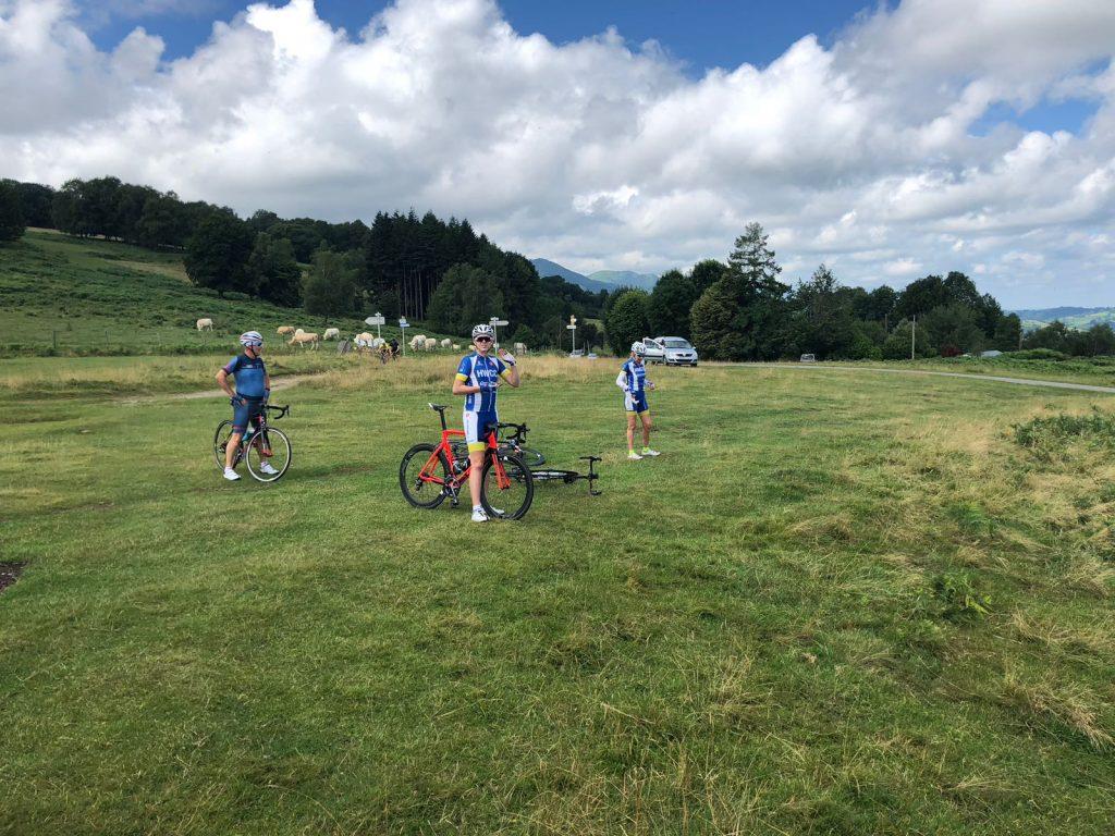 bikes in a field