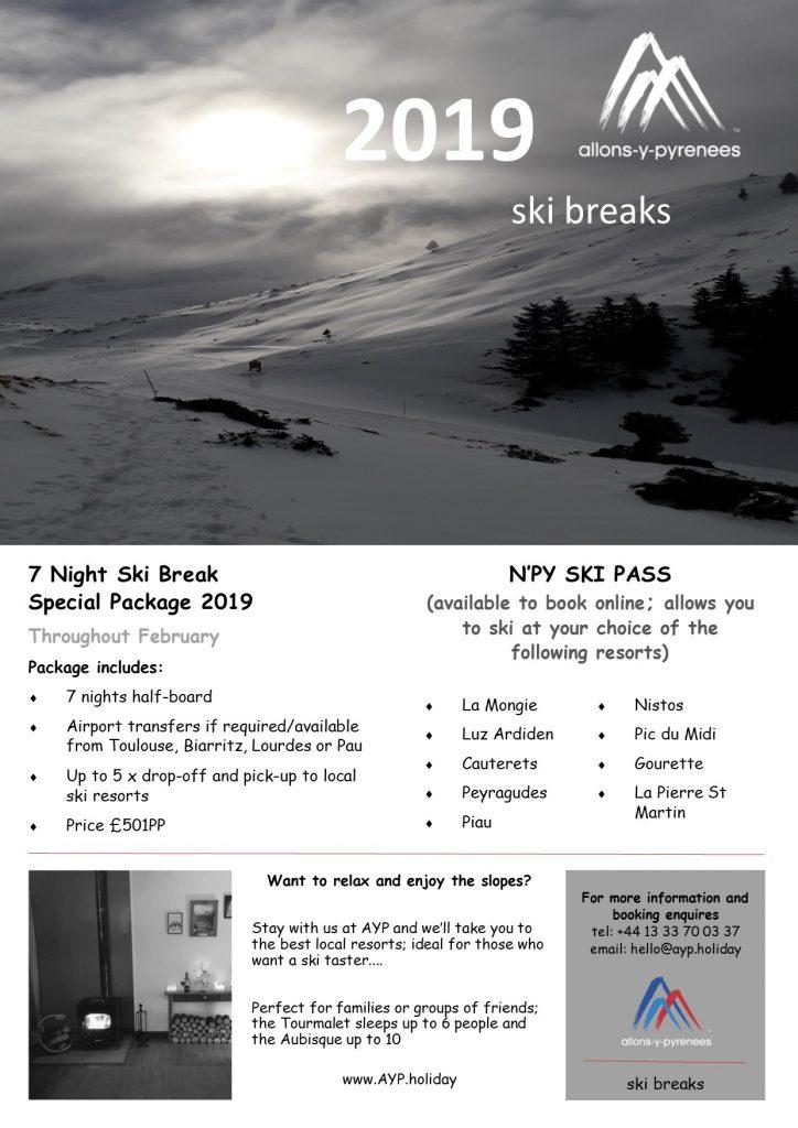 ski breaks 2019