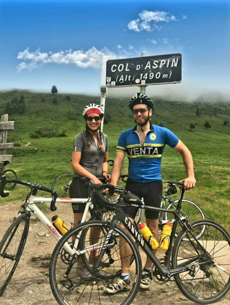 Rach and Chris AYP Cycling Holidays