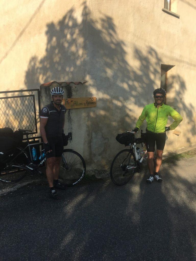 john taylor and chris bike packing